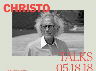 CHRISTO at TimesTalks Art + Design Festival