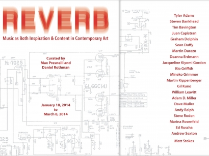 Reverb: Music as Both Inspiration and Content in Contemporary Art (Group, catalogue)