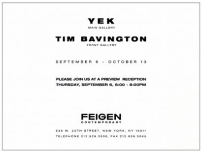 Yek & Tim Bavington