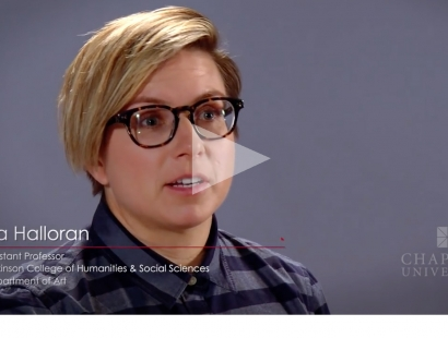 LIA HALLORAN: The Intersection of Art and Science (Chapman University)