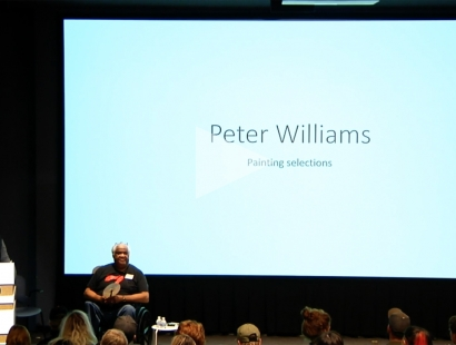 PETER WILLIAMS presentation at MCAD