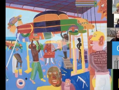 PETER WILLIAMS: TALK series, College of Creative Studies Detroit, Michigan