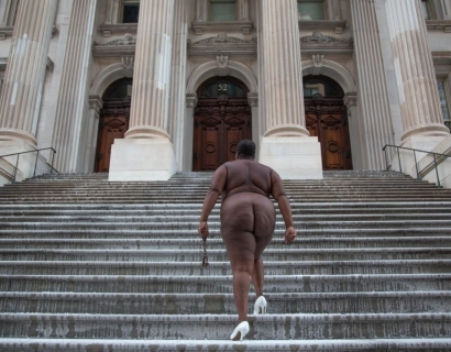 artnet news on Nona Faustine