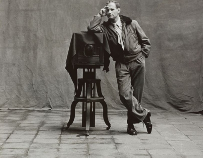 Vogue on Irving Penn