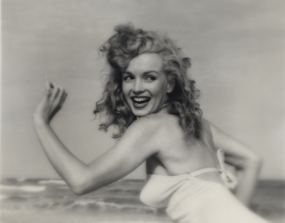 Le Figaro on Marilyn Monroe and Andrè De Dienes