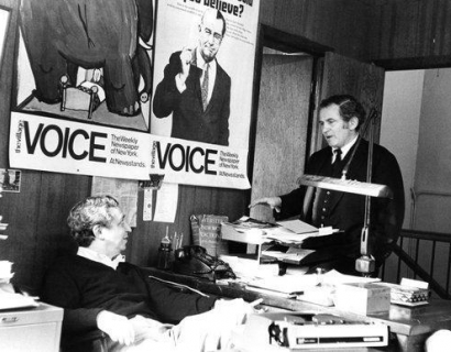The Village Voice and Fred W. McDarrah in The New York Times