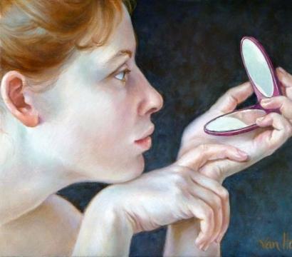 Francine Van Hove Hanae peinture painting