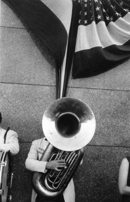 Robert Frank - Political Rally, Chicago, 1956    Bruce Silverstein Gallery