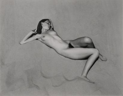 Edward Weston- Nude, 1936 Gelatin silver print mounted to board, printed c. 1940   Bruce Silverstein Gallery