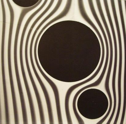 Werner Bischof - Current Encountering Resistance, Zurich, Switzerland, 1942 Gelatin silver exhibition print mounted to masonite   Bruce Silverstein Gallery