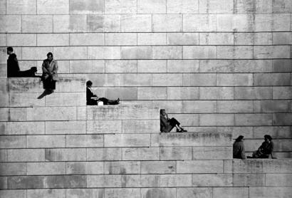Robert Doisneau - Sur les Quais, Juin, 1953   Bruce Silverstein Gallery
