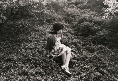 Cindy Sherman - Untitled Film Still #57, 1980 Gelatin silver print, printed c. 1980   Bruce Silverstein Gallery