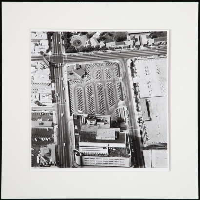 Ed Ruscha - Untitled fromParking Lots, 1967-69 | Bruce Silverstein Gallery