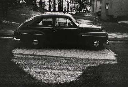 Kenneth Josephson - Stockholm, 1967 Gelatin silver print mounted to board, printed c. 1970-1975 | Bruce Silverstein Gallery