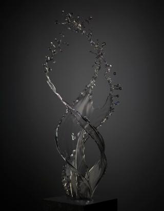 Shinichi Maruyama - Light Sculpture #17, 2019 Archival pigment print ; Bruce Silverstein Gallery