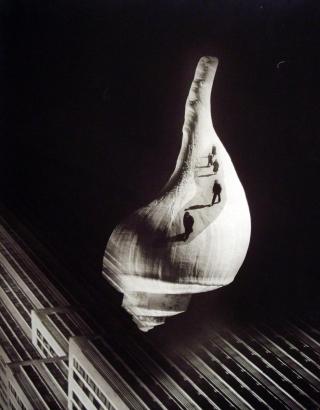 Barbara Morgan - City Shell, 1938 Gelatin silver print | Bruce Silverstein Gallery
