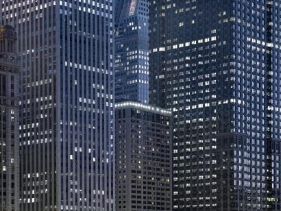 Michael Wolf - Transparent City #13, 2007 Chromogenic print ; Bruce Silverstein Gallery