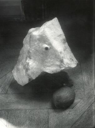 Josef Sudek - Eye on Stone, c. 1950 | Bruce Silverstein Gallery