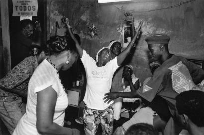 Chester Higgins - Vodoum ceremony, Matanzas, Cuba, 1993  | Bruce Silverstein Gallery