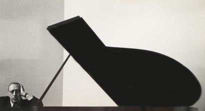 Arnold Newman - Stravinsky, December 1, 1946   Bruce Silverstein Gallery