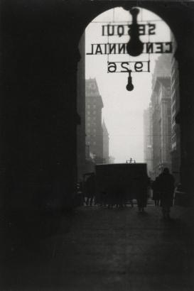 E. O. Hoppé - Philadelphia, Pennsylvania, 1926 Gelatin silver print, printed c. 1926 | Bruce Silverstein Gallery