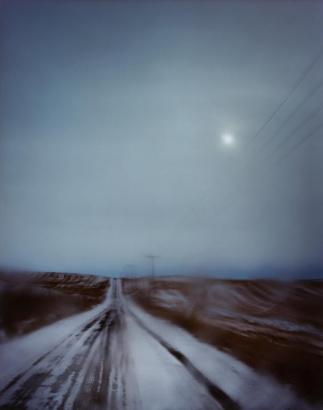 Todd Hido ; #9198, 2010 Archival pigment print ; Bruce Silverstein Gallery