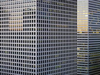 Michael Wolf - Transparent City #2, 2007 Chromogenic print ; Bruce Silverstein Gallery