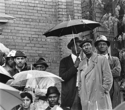 Chester Higgins - Looking for Justice, Civil Rights Rally, Montgomery, Alabama, 1968  | Bruce Silverstein Gallery