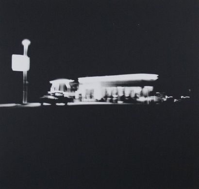 Ed Ruscha - Untitled fromGasoline Stations, 1962 | Bruce Silverstein Gallery