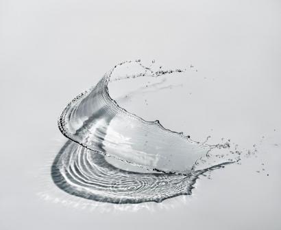 Shinichi Maruyama - Water Sculpture #9, 2009 Archival pigment print ; Bruce Silverstein Gallery