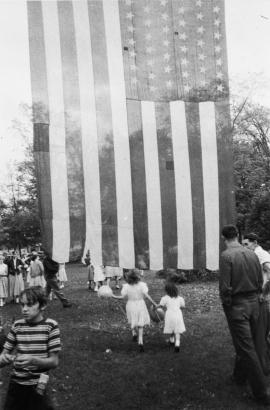 Robert Frank - Fourth of July - Jay, New York, 1951   Bruce Silverstein Gallery