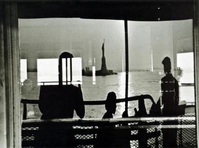 Frank Paulin - Staten Island Ferry, 1954 Gelatin silver print   Bruce Silverstein Gallery