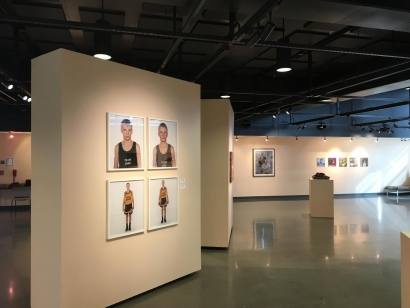 Nicolai Howalt - Installation view -On the Ropes/ in the Kisser,Coastline Community College ; Bruce Silverstein Gallery