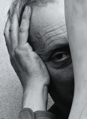 Arnold Newman - Jean Arp, c. 1949-55   Bruce Silverstein Gallery