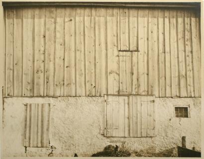 Charles Sheeler - Side of White Barn, Bucks County, 1915 | Bruce Silverstein Gallery