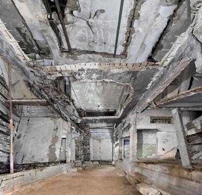Marjan Teeuwen- Destroyed House Gaza 5, 2017 | Bruce Silverstein Gallery