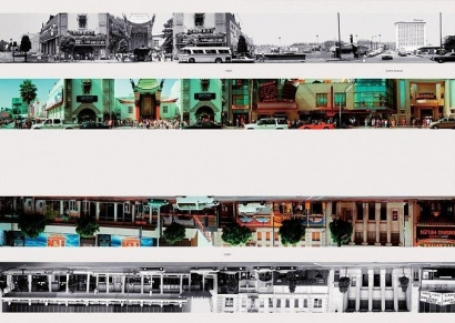Ed Ruscha - Untitled, fromThen & Now, 1973-2004 Complete portfolio of 142 prints | Bruce Silverstein Gallery