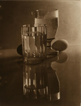 Josef Sudek - Glasses and Eggs, 1951 | Bruce Silverstein Gallery
