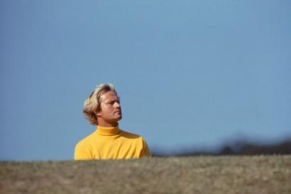 Walter Iooss, Jr. - The Golden Bear, Jack Nicklaus, St. Andrew's, Scotland, 1978  | Bruce Silverstein Gallery