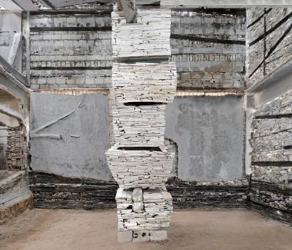 Marjan Teeuwen- Destroyed House Gaza 10, 2017 | Bruce Silverstein Gallery