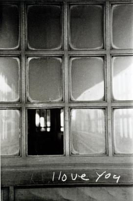 Frank Paulin - I Love You, Chicago, 1951 Gelatin silver print, printed c. 1951   Bruce Silverstein Gallery