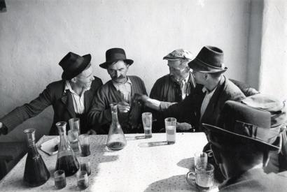 Werner Bischof - Farmer's Inn in the Puszta, Hungary, 1947 Gelatin silver print   Bruce Silverstein Gallery