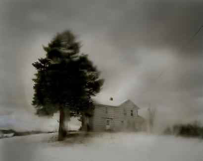 Todd Hido ; #10845-7, 2012 Archival pigment print ; Bruce Silverstein Gallery