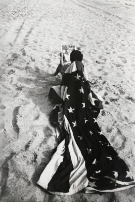 Robert Frank - Marilyn Is Dead, Cape Cod, MA, 1962    Bruce Silverstein Gallery