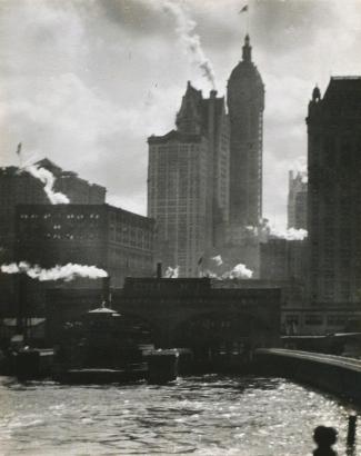 Alfred Stieglitz - The City of Ambition, 1910 | Bruce Silverstein Gallery