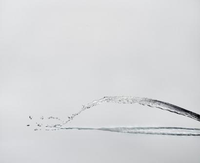 Shinichi Maruyama - Water Sculpture #8, 2010  Archival pigment print ; Bruce Silverstein Gallery