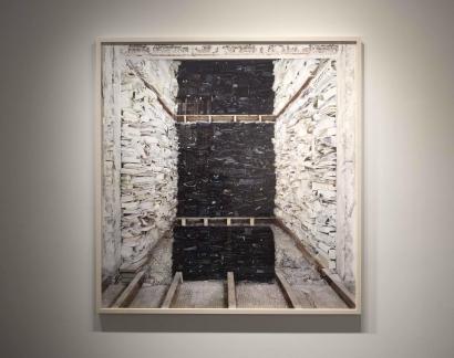 Marjan Teeuwen- Destroyed House 1, 2007 | Bruce Silverstein Gallery