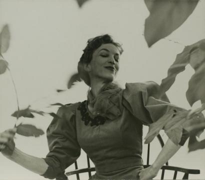 Frank Paulin - Actress Off Broadway Play, 1955 Gelatin silver print, printed c. 1955   Bruce Silverstein Gallery