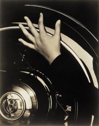 Alfred Stieglitz - Hand and Ford Car, 1933  | Bruce Silverstein Gallery