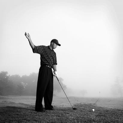 Walter Iooss, Jr. - Tiger Woods, Orlando, FL, 2002 | Bruce Silverstein Gallery